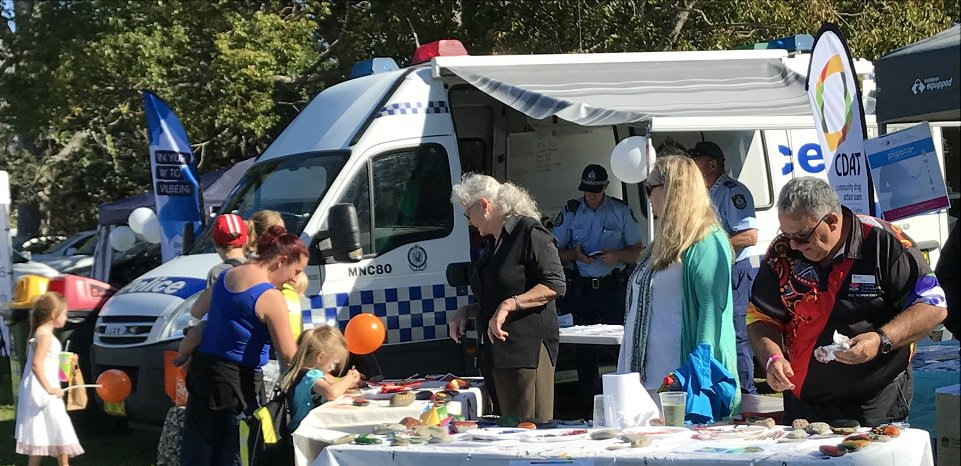 Macleay Valley CDAT Naidoc Week family fun day stall