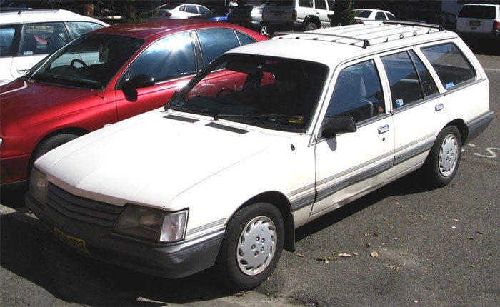 White Holden VK Commodore Wagon