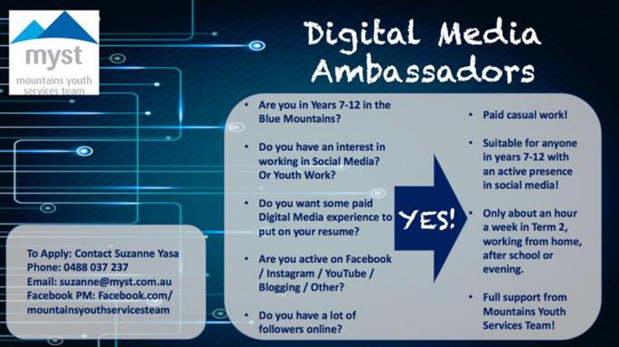 digital media ambassadors ad