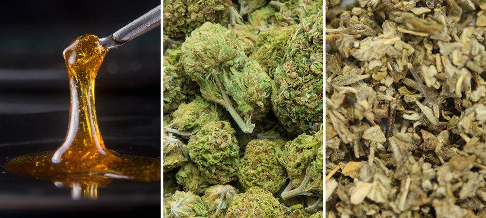 cannabis oil bud synthetic