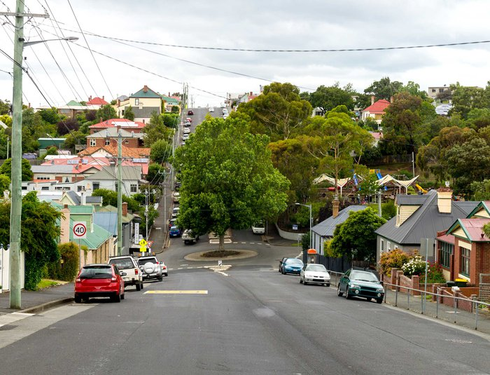Australian suburbs eye level
