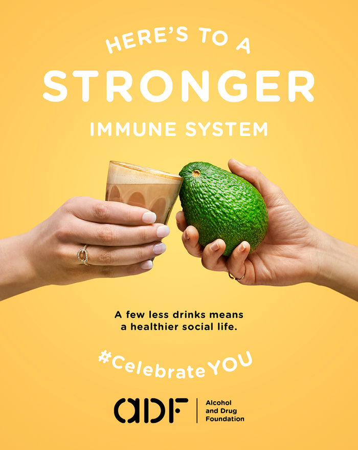 Stronger immune system graphic