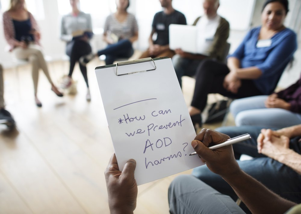 AOD harms therapy