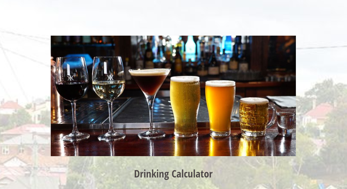 Drinks calculator