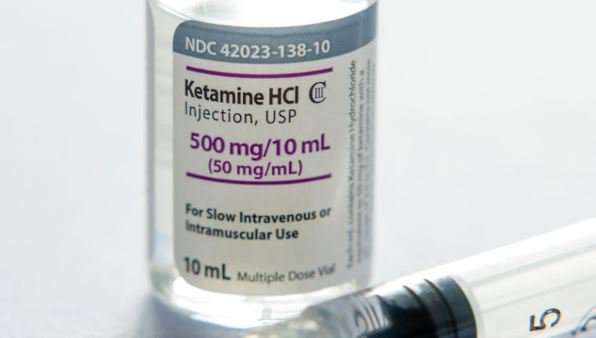 ketamine and syringe