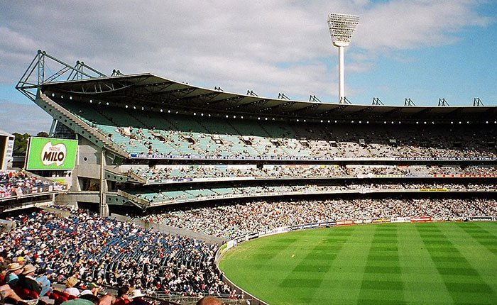 the Melbourne Cricket Ground in the 90s