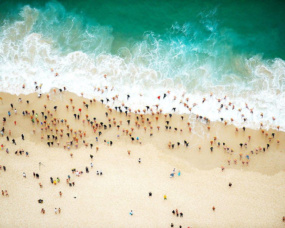 Aerial view beach 03